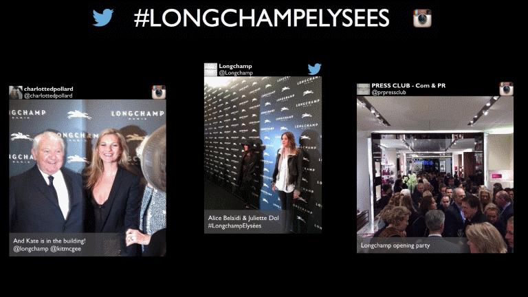SocialWall - Longchamp