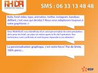 Interactivité SMS EDF