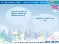 Interactivité SMS Crédit Agricole