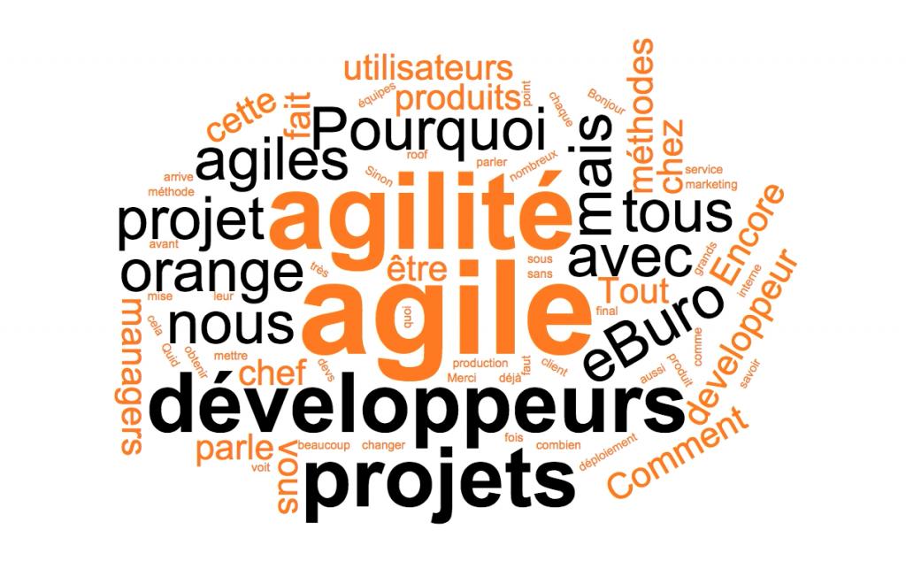 MobilActif cas client Orange Labs nuage de mots