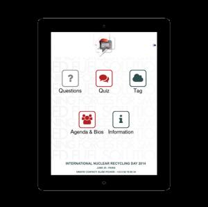 MobilActif cas client Areva MobApp application outil interactif