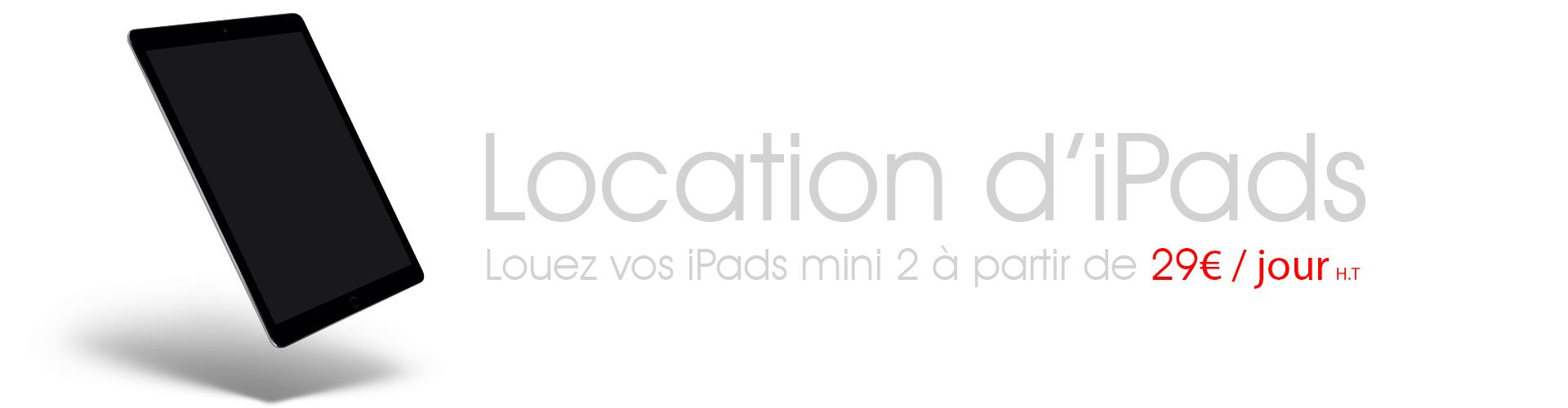 MobilActif location iPads