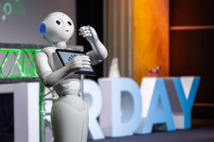 Nestor le robot en concert